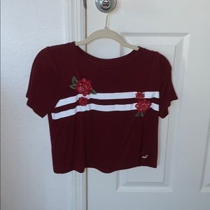 cropped shirt, from Hollister !